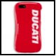 Ducati Schutzh�lle Cover I-Phone 5/5S rot