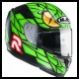 HJC Helm R-RPA 10 Plus Green Mamba MC4SF