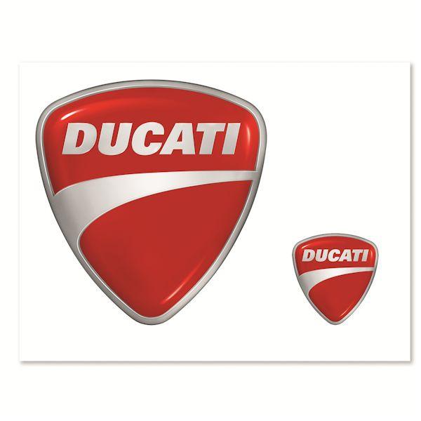 Ducati 987694015 Aufkleber Set Company rot_1