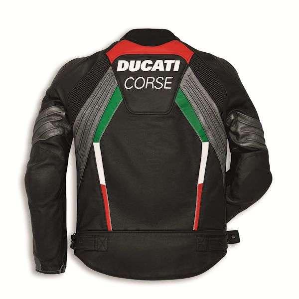 Ducati corse flow herren jacke schwarz sommer