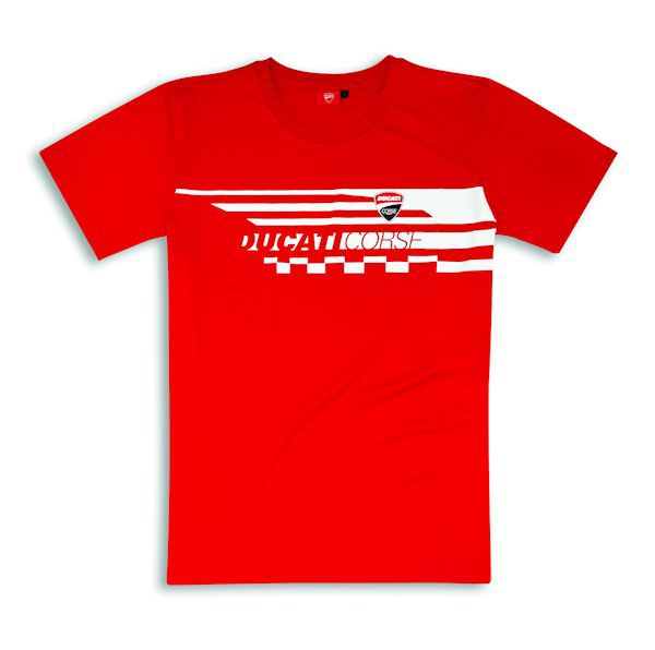 Ducati 98769739 T-Shirt Red Check rot_1