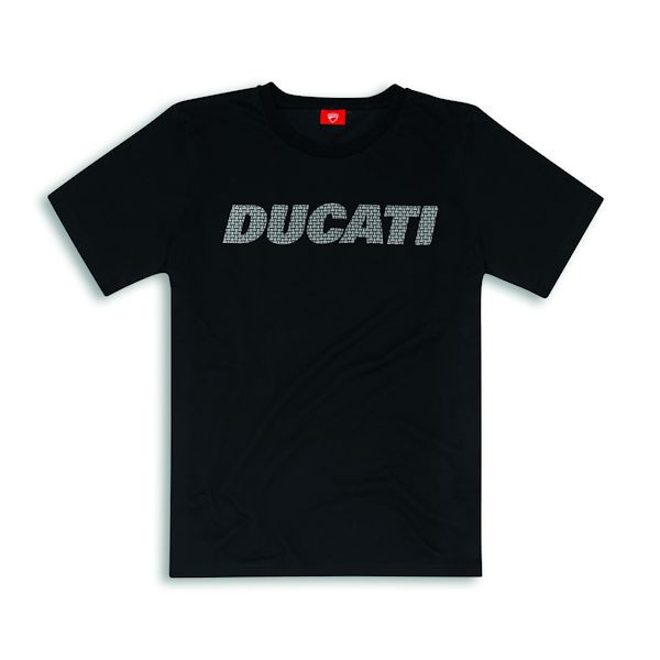 Ducati 98769741 T-Shirt Carbon schwarz_1