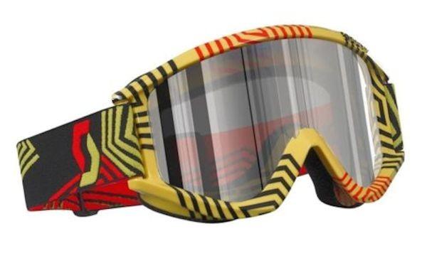 Crossbrille Recoil Xi Pro Enduro gelb_1