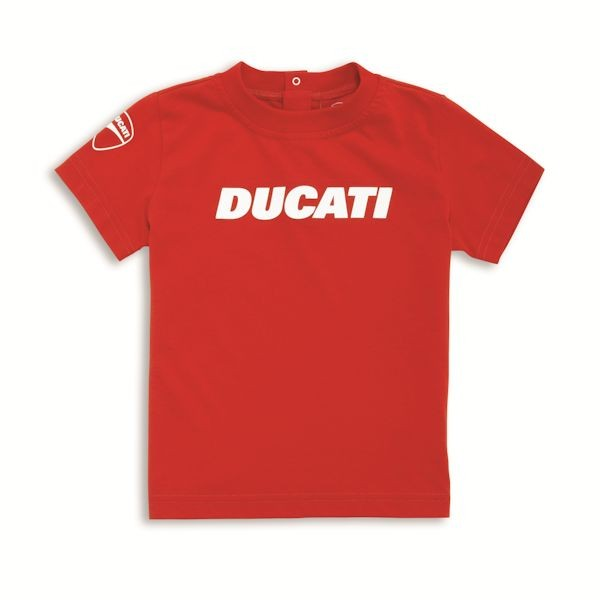 Ducati 98769060 Kinder T-Shirt Ducatiana rot_1